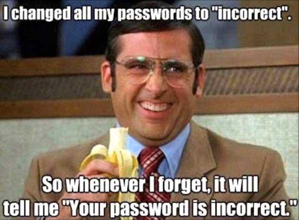 Website Security Passwords