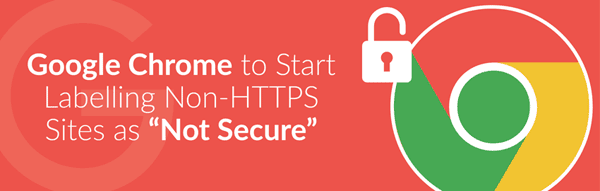 Web Security Google Chrome HTTPS Non-Secure Warning
